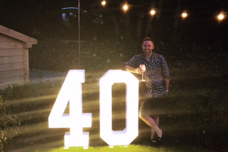 light up numbers to hire in huddersfield and halifax west yorkshire