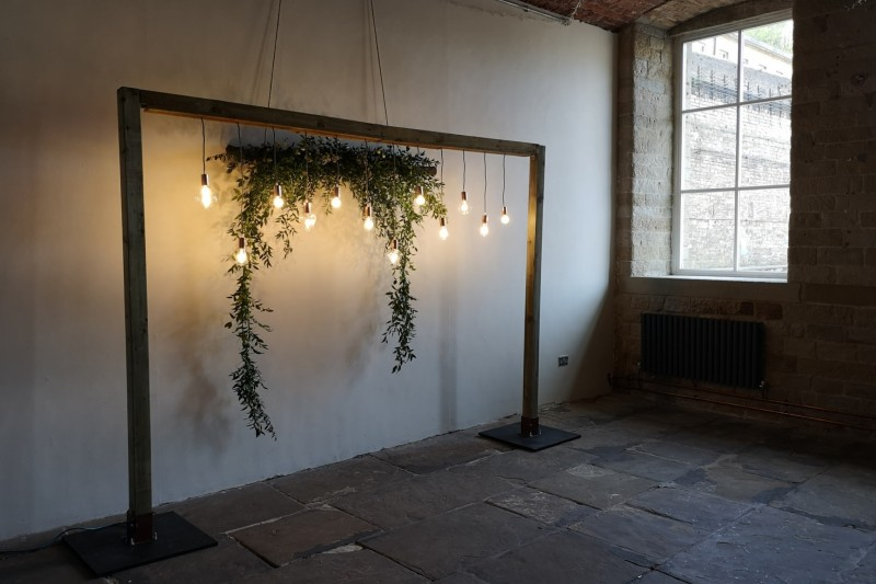 Rustic Wedding Backdrop to Hire In Halifax Yorkshire
