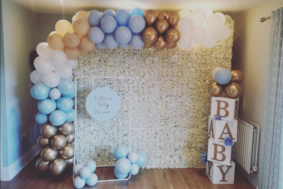 Wakefield-wedding-decor-styling-prop-hire - Deluxe Personalised Baby Shower Package