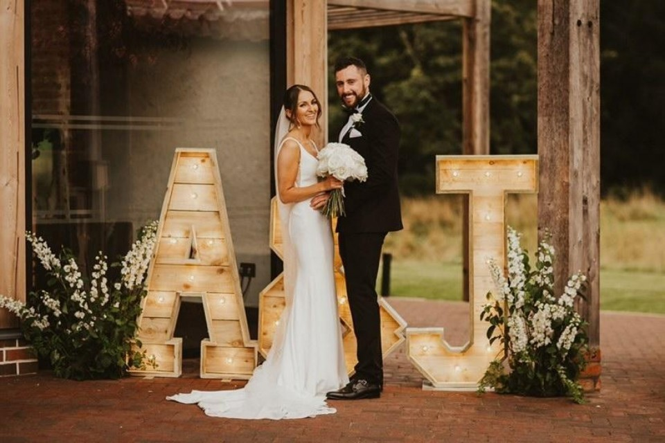 Chelmsford Wedding Decor, Styling & Prop Hire - Reclaimed Initials