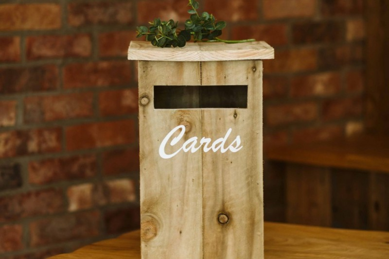 Rustic Wedding Love Letter Hire