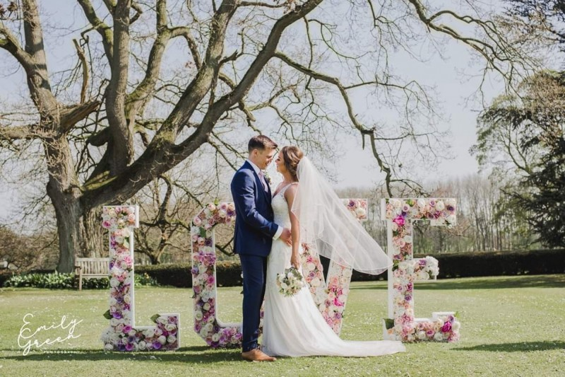 Floral Love Letter Hire across Yorkshire