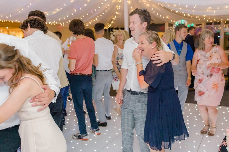 Twinkle LED Dance Floor in White to Hire