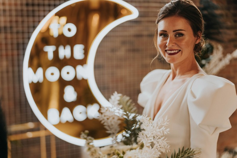Beautiful Neon Wedding Sign to Hire