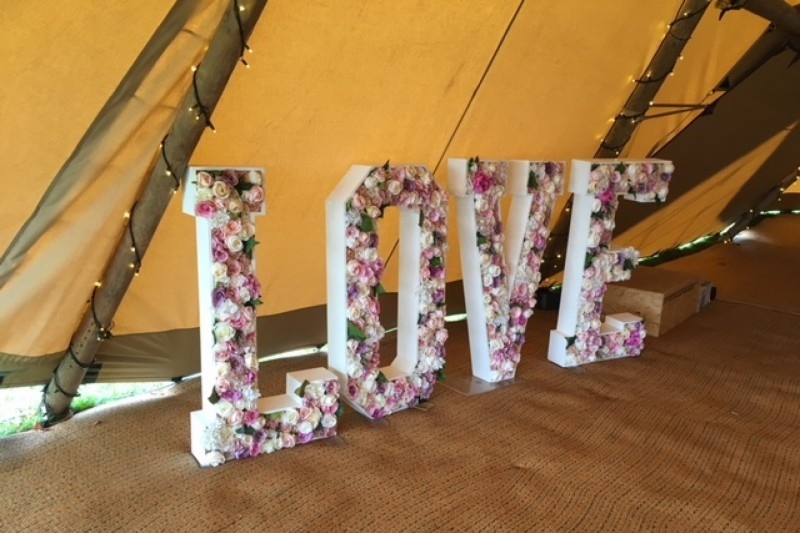 floral love letter hire yorkshire