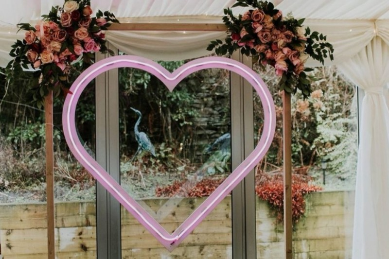 Neon Wedding Sign Hire Huddersfield Yorkshire